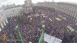Хроника Евромайдана: от штурма до миллионных митингов