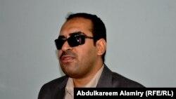 سرور نصار، رئيس جمعية رعاية المكفوفين، البصرة