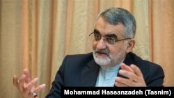 Alaeddin Boroujerdi, Chairman of the Foreign Policy and National Security Committee of Iran's Parliament