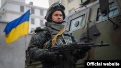 Украин армияси ҳарбийси.