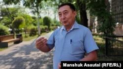 Адвокат Ғалым Нұрпейісов. Алматы, 10 маусым 2021 жыл.