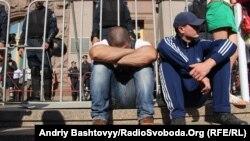 Гарячий ранок під Київрадою