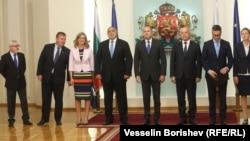 Илустрација - Бугарскиот политички врв