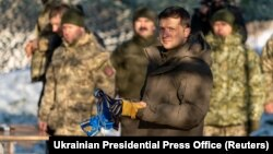 Ukrainanyň prezidenti Wolodymyr Zelenskiý
