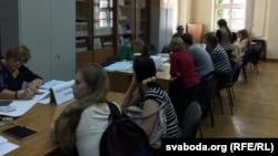 Вступительные экзамены в вуз, Беларусь (иллюстративное фото)
