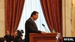 Marian Lupu îşi prezintă programul în parlament