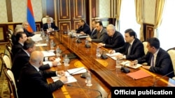 заседание Совета национальной безопасности Армении (архив)