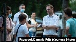 Dominic Fritz, candidatul USR la primăria Timișoara, întâlnire cu alegătorii
