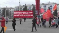 Уфа коммунистлары 1 май бәйрәмен билгеләде