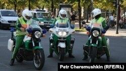 Полиция на улицах Берлина