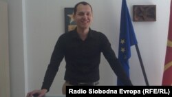 Александар Кузески, портпарол на СДСМ - Охрид.