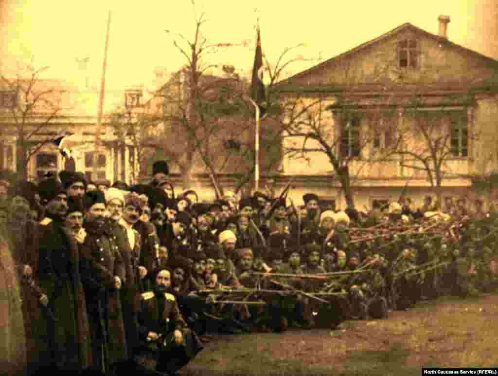 Фотография Темир-хан-шуры (Буйнакска)сделанная в 1917 году.