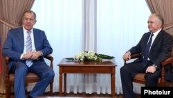 Հայաստանի և Ռուսաստանի ԱԳ նախարարների հանդիպում Երևանում, արխիվ