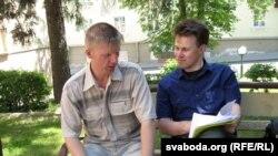 Алесь Масюк, актывіст са Слоніма і праваабаронца Юры Чавусаў.