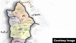 قربانیان این حمله برای بررسی وضعیت آبهای مرزی در این منطقه حضور داشتند.
