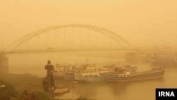 آلودگی هوا در اهواز، عکس آرشیوی است