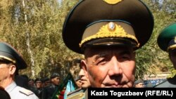 Генерал-майор в отставке Сармантай Нургажин, авиационный военный инженер. Алматы, 26 сентября 2013 года.