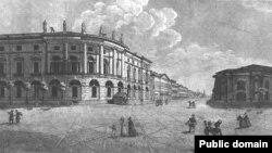 Здание Императорской Публичной библиотеки, 1812