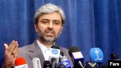 محمدعلی حسینی، سخنگوی وزارت خارجه ایران می گوید اظهارات رييس جمهوری آمريکا درباره مقابله با «برنامه هسته ای» جمهوری اسلامی برای اجتناب از «جنگ جهانی سوم»، «تهديدی» برای امنيت جهانی است