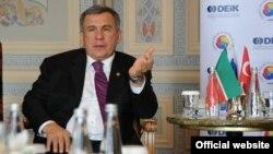 Рөстәм Миңнеханов Төркиягә сәфәре вакытында