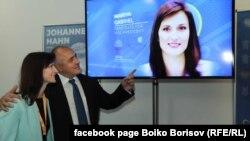 Бойко Борисов и Мария Габриел на конгреса на ЕНП в Загреб