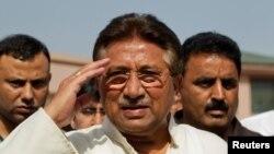 Былы прэзыдэнт Пакістану Пэрвэз Мушараф