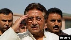 Бывший президент Пакистана Первез Мушарраф.