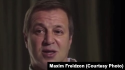 Russian businessman Maksim Freidzon (file photo)