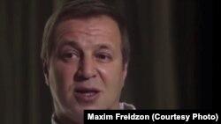 Максим Фрейдзон у фільмі «Таємні багатства Путіна»