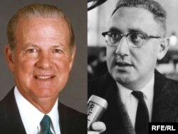 Henry Kissinger i James Baker, arhivske fotografije