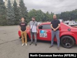 Флешмоб в поддержку Гуева в Северной Осетии