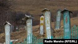Кладбище в Чечне (иллюстративное фото)