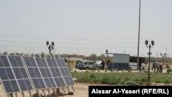 الكوفة: الواح شمسية لتوليد الكهرباء