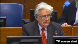 Radovan Karadžić u haškoj sudnici