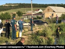 Спасатели ищут тело Мусы Сулейманова