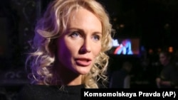 Russian journalist and TV host Yekaterina Gordon (file photo)