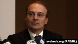 Антонио Милошоски, шеф на набљудувачката мисија на ОБСЕ за изборите во белорусија.