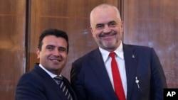 Зоран Заев и Еди Рама