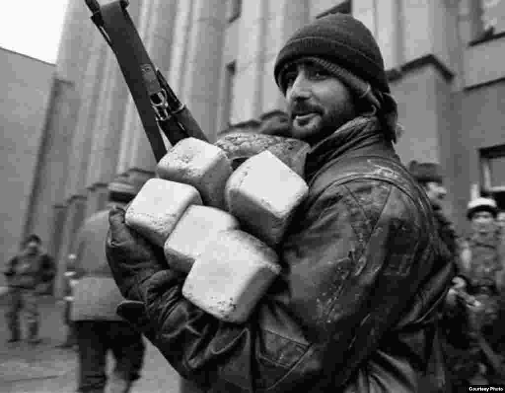 Нохчийн тIемалой Соьлж-ГIалахь, хьалхара тIом, 1995