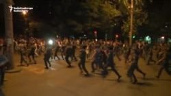 Fresh Clashes In Armenian Capital Between Police And Protesters
