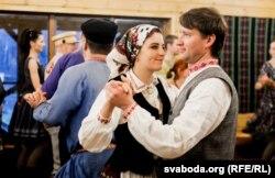 Першая міжнародная ноч традыцыйных танцаў у Горадні