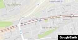 Улица Конева в Праге