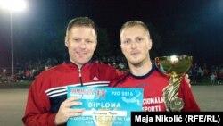 Boris Filipović i Davor Divković, osnivači turnira