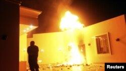 Напад на американскиот конзулат во Либија.