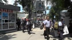 Очевидцы о событиях в Алматы