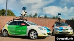 Google Street View automobili