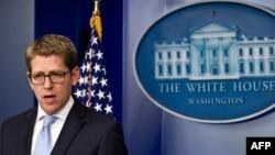 Пресс-секретарь президента США Джей Карни