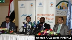 ادم عبد المولى(الثاني من اليمين) مدير مكتب برنامج الامم المتحدة الانمائي