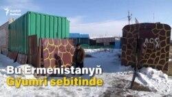 Ermenistan: Terk edilen haýwanat bagy