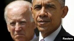 رئیسجمهوری آمریکا و معاون او جو بایدن